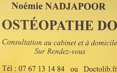 Une Ostéopathe rejoint La Force d'Épione